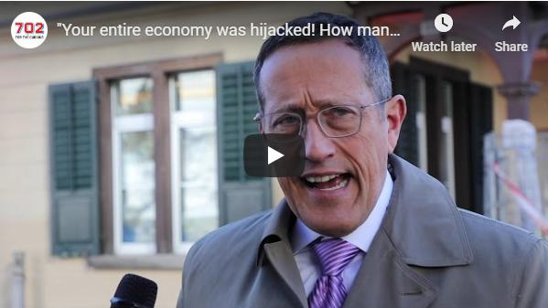 In 'n onderhoud verduidelik Richard Quest hoe Suid Afrika se hele ekonomie gekaap is en wat die buitewêreld werklik hiervan dink.